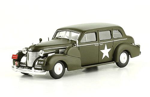 CADILLAC SERIES 75 1:43, voitures militaires de la seconde guerre mondiale
