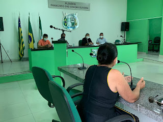 Josenaide Matos é ouvida em Comissão que investiga PPP da iluminação de Campo Maior