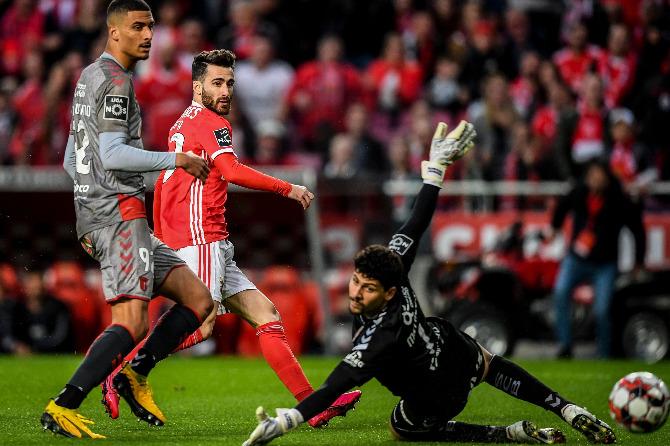 Rafa podia ter colocado o Benfica na frente