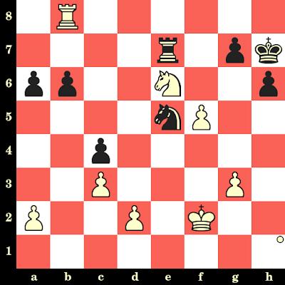 Les Blancs jouent et matent en 4 coups - Vlastimil Hort vs Erkki Havansi, Halle, 1967