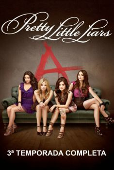 Pretty Little Liars 3ª Temporada Torrent – BluRay 720p Dual Áudio