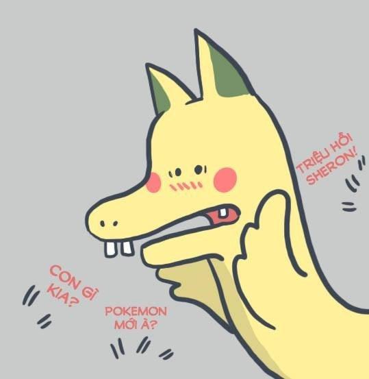 """Cách cài bộ ảnh icon """"rồng pikachu"""" vui nhộn để chat trên Facebook"""