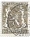 Selo Brasão da Bélgica 10c