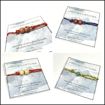 wholesale bracelets, rock climbing, rope, handmade, bracelets, mountains, hiker jewelry, climber jewelry, jewelry, summit shaka