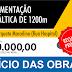 Início da obra de pavimentação asfáltica da rua Torquato Marcelino, em Mundo Novo-BA