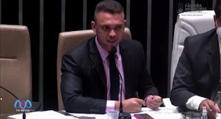 Transito de Guarabira foi tema de fala do vereador Ramon Menezes na CMG na primeira sessão do ano