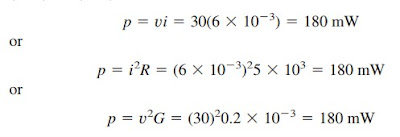 power example solution