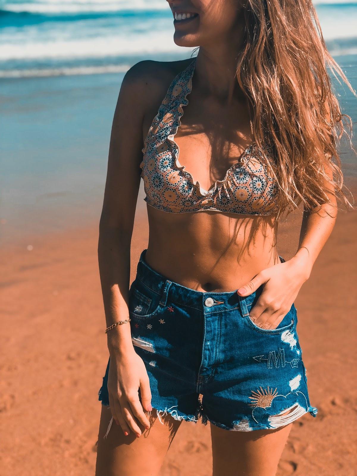 bikini estampado marroquí