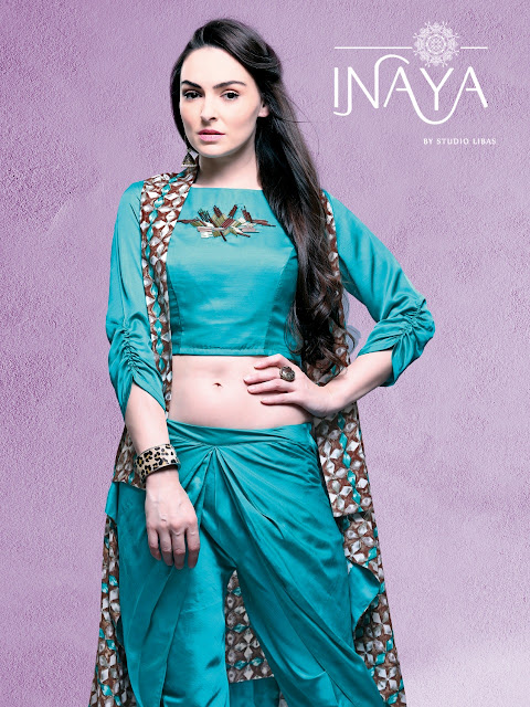 Inaya Jacket N Dhoti Party wear Ethnic Collection