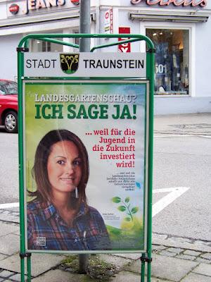 Julia Sattler zur Landesgartenschau Traunstein