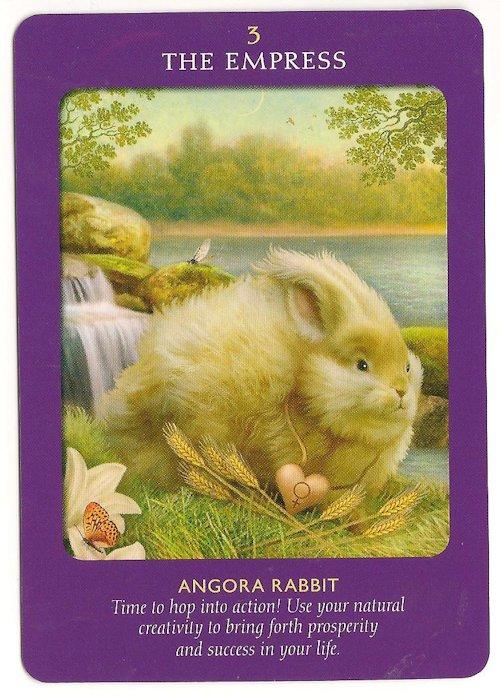 Animal Tarot Cards: Tarot Notes: Animal Tarot Time: The Empress