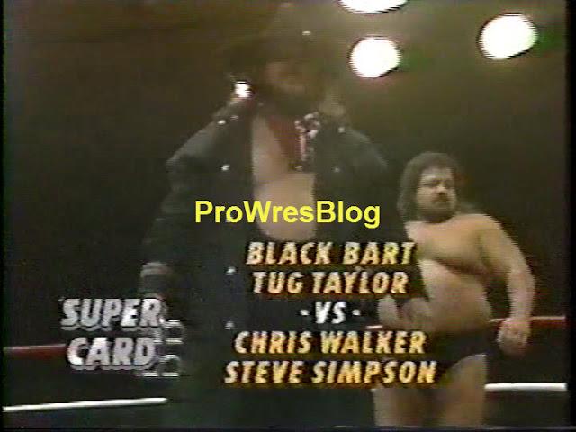 ProWresBlog: Global Wrestling Federation Vol. 92Black Bart Simpson Do The Right Thing