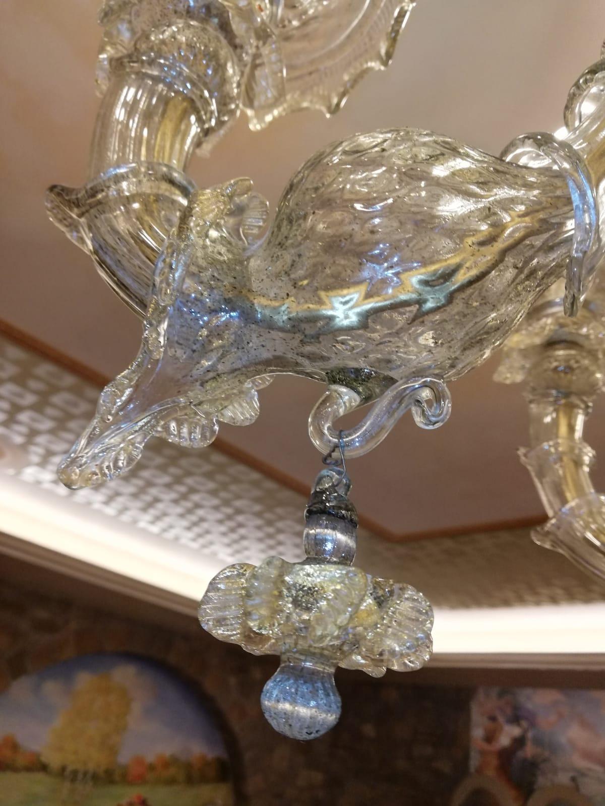 5 ricambi lampadario vetro murano 5 foglie varie misure. Ricambi Per Lampadari In Vetro Di Murano E Specchi Veneziani Carezzonico