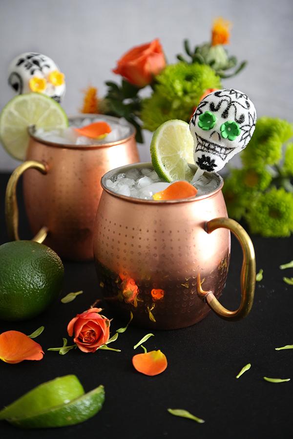 Dias de los Muertos Mule Cocktail