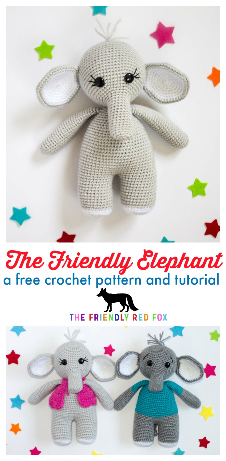 The Sweetest Crochet Elephant Patterns To Try   The WHOot   1500x735