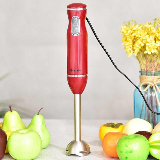 Deal: 2-Speed StainlessSteel Immersion Blender Stick Hand Mixer - $22.99