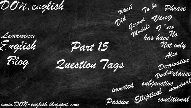 Aturan Pemakaian dan Contoh Kalimat Question Tag