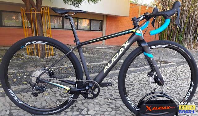 Bicicleta Audax Bike Pampero Gravel Carbon
