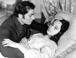 Laurence Olivier incarna Heathcliff et Merle Oberon joua le rôle de Catherine dans Wuthering Heights de William Wyler en 1939