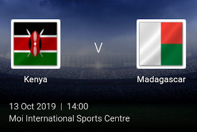 LIVE MATCH: Kenya Vs Madagascar Fifa Internationals 13/10/2019