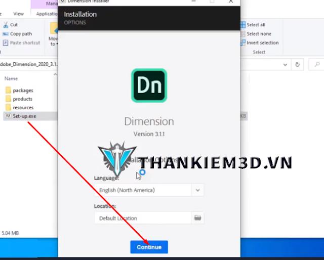 huong dan cai dat Adobe Dimension CC 2020