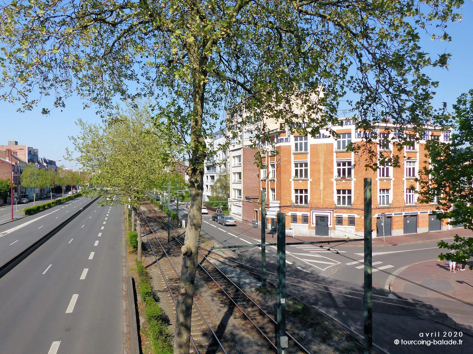 Avenue de la République, Marcq-en-Baroeul, 2020