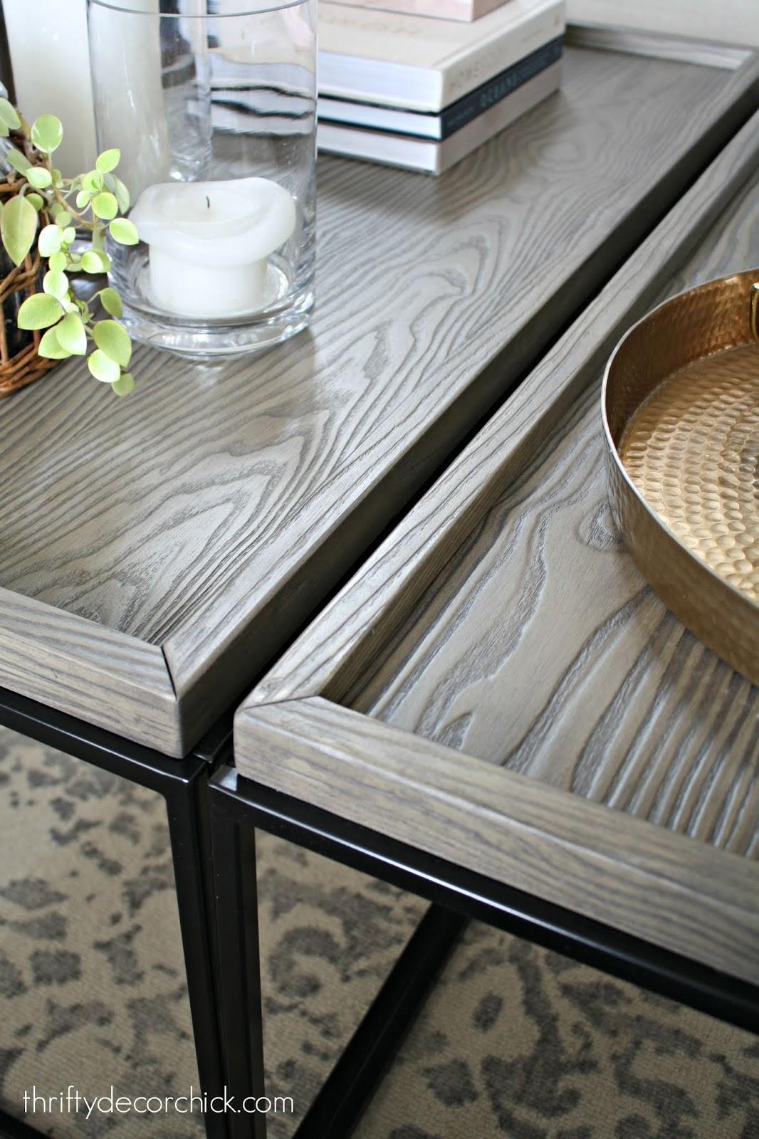 Bennington Mixed Material Coffee Table, Threshold
