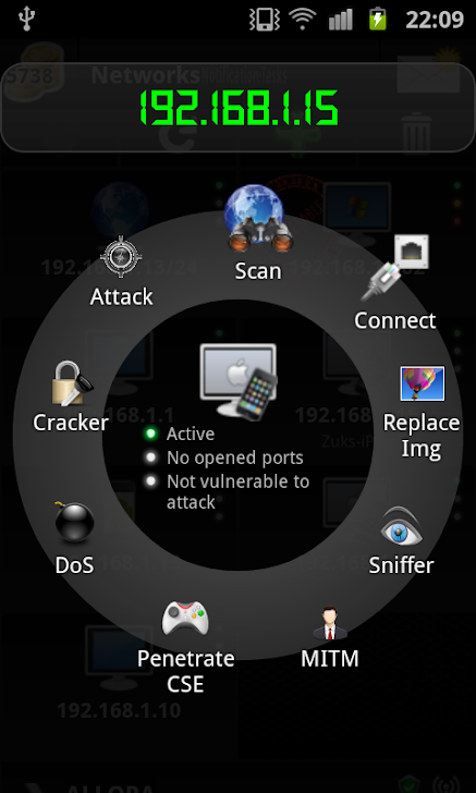 Android Network Toolkit (ANTI) Review - Pentest at the push