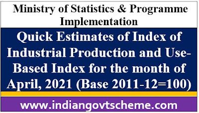 Quick Estimates of Index of Industrial Production