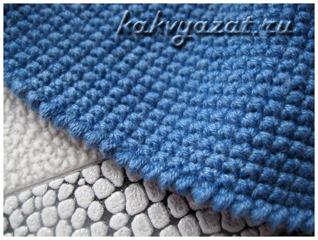 Полотно крючком из пряжи Gazzal Baby Cotton
