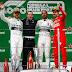 Hamilton vence o GP 1000 da F1 na China e Mercedes conquista a terceira dobradinha consecutiva na temporada