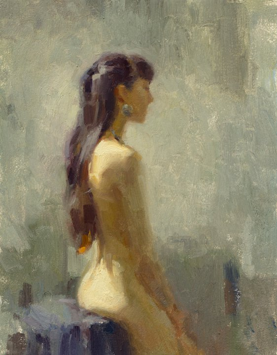 Aaron Coberly 1971 | American Figurative Impressionist painter