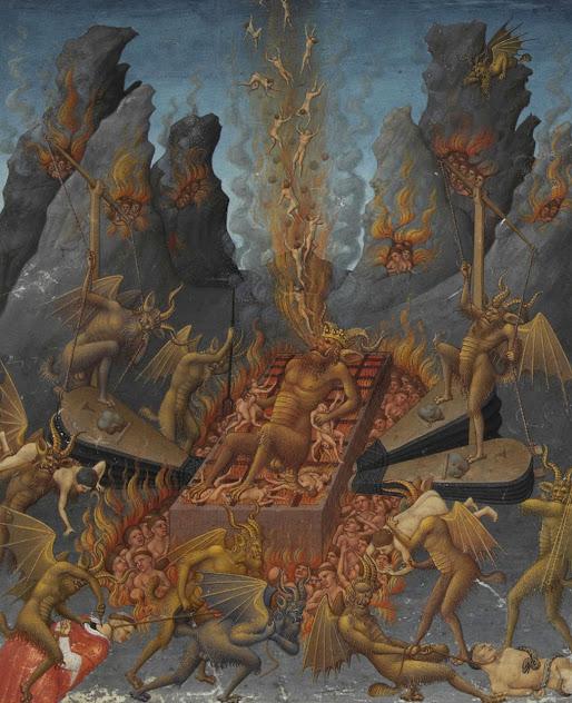 Nada pode tirar do espírito humano a noção de que o inferno existe e está no fundo da terra