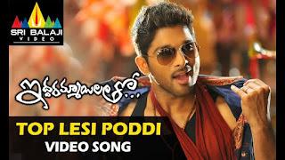 Top Lesi Poddi song lyrics in English – Iddarammayilatho