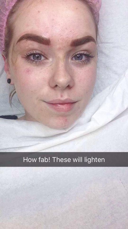 Jodi Roche Makeup I Got My Brows Tattooed On Pmu By Olena Oliynyk