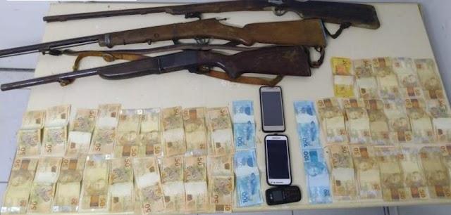 Polícia prende quadrilha especializada em roubo de gados na Chapada Diamantina