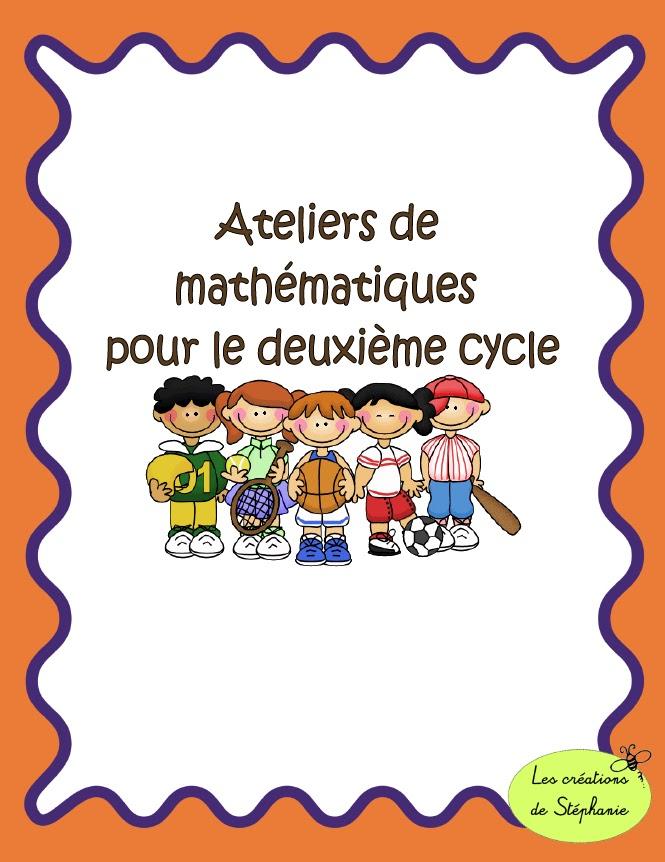 Les Cr U00e9ations De St U00e9phanie  Ateliers De Math U00e9matiques Pour