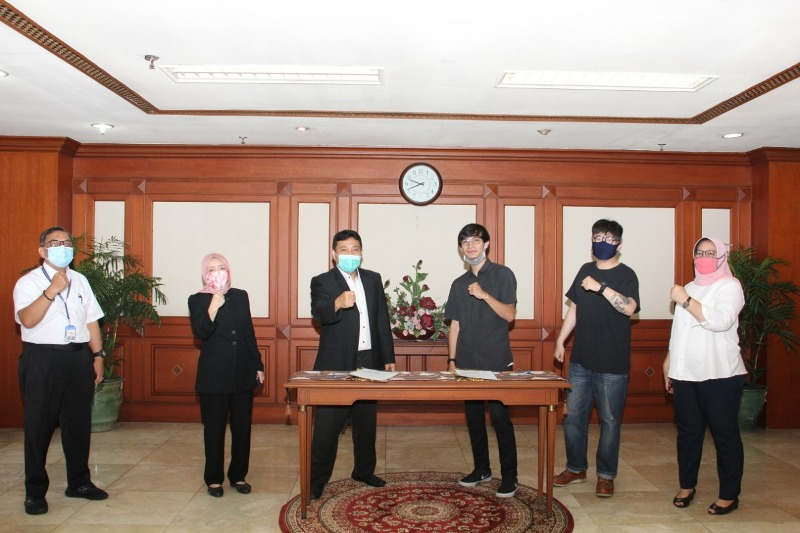 Kantor Perwakilan BP Batam Gandeng Kohai Promosikan Aset Kuningan Guest House