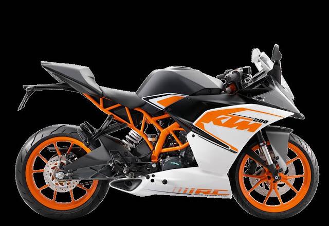 Spesifikasi KTM RC 200