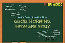 Materi Bahasa Inggris Kelas 7 Chapter 1 - Good Morning. How are You?