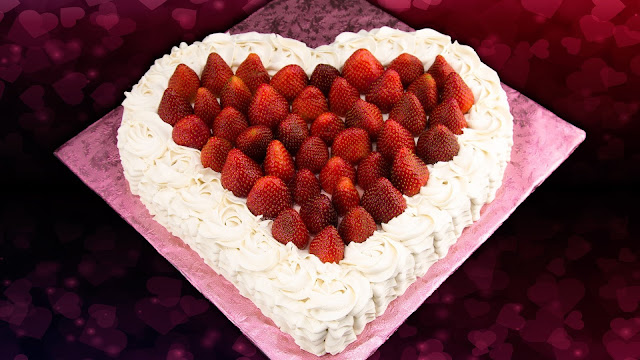 Valentine's Day Heart Shaped Cakes Images