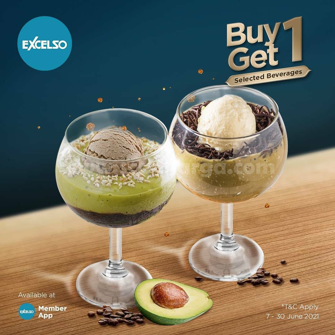 Promo Excelso Coffee Buy 1 Get 1 Selected Menu