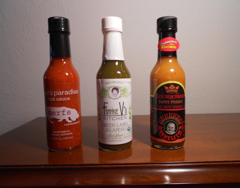 Trio Of Artisan Hot Sauces From Fuego Box Image