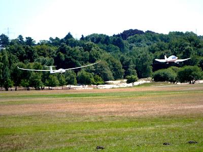 Segelfliegen Hamburg Flugplatz