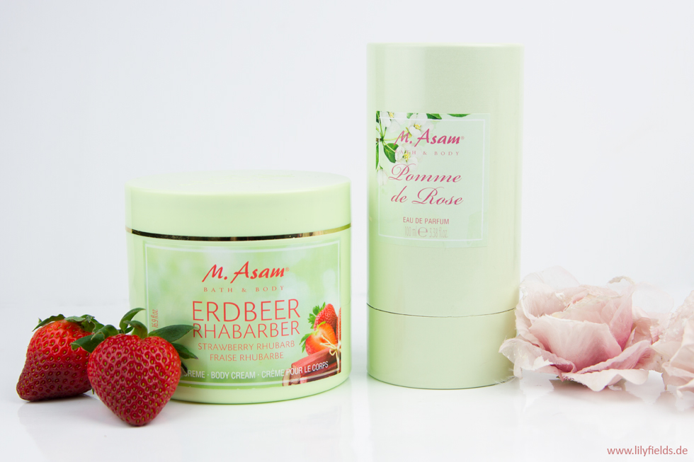 M. Asam - Pomme de Rose und Erdbeer Rhabarber