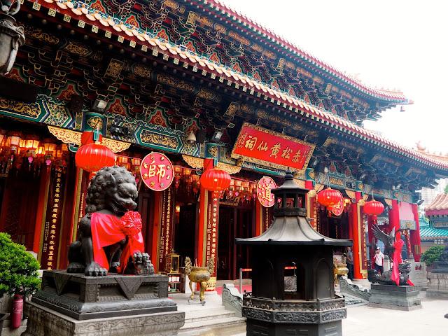 Wong Tai Sin Sik Sik Yuen Temple, Hong Kong