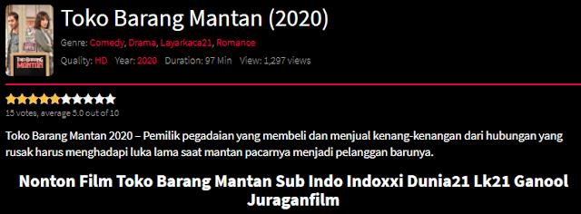 Nonton Film Toko Barang Mantan (2020) Lengkap Link Terbaru 2021