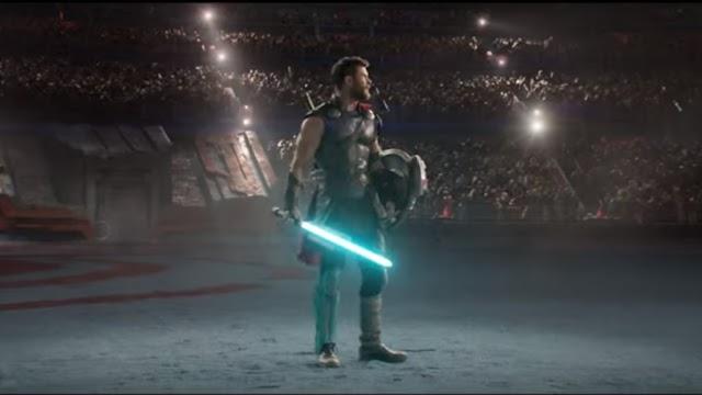 Fã coloca Thor para lutar com Hulk usando sabres de luz! Venha conferir!