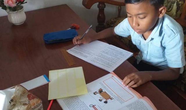 Kemendikbud Siapkan Modul PJJ SD untuk Orang Tua, Siswa, dan Guru