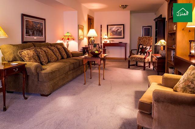 ديكورات صالة معيشة بسيطة وغير مكلفة - غرفة جلوس